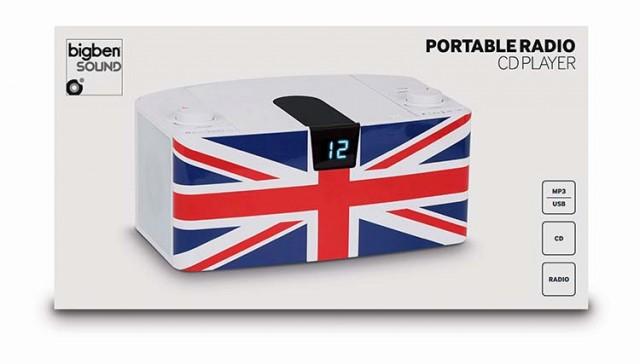 CD-Radio CD57 USB – UK Flag - Packshot
