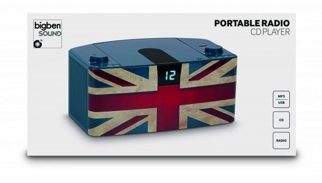 CD-Radio CD57 USB – Union Jack - Packshot
