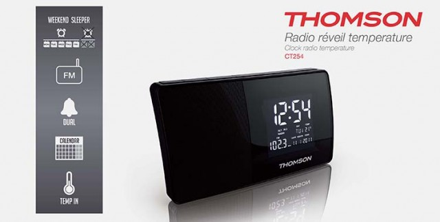 Radiowecker CT254 - Packshot