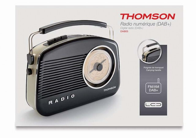 Radio DAB03 - Packshot