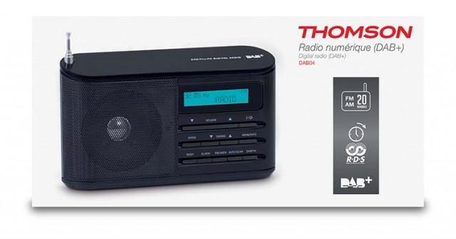 DAB-Radio DAB04 - Packshot