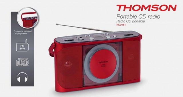 CD-Radio RCD181 - Packshot
