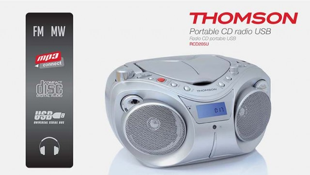 CD-Radio RCD205U - Packshot