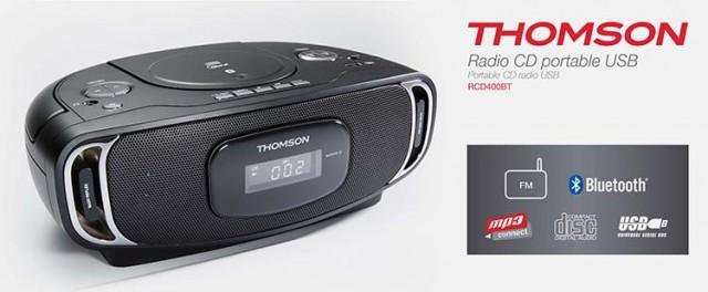 CD-Radio RCD400BT - Packshot