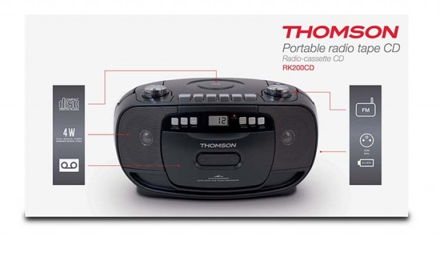 CD-Radio RK200CD - Packshot