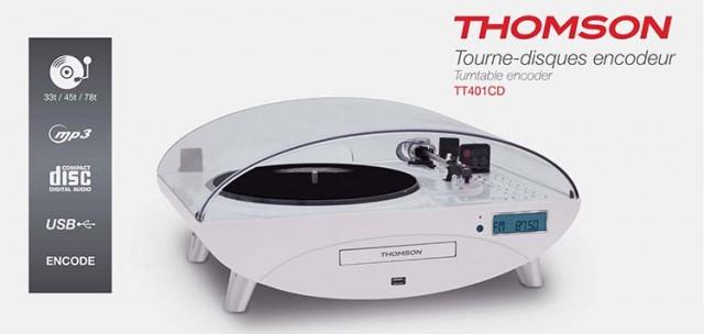 Plattenspieler TT401CD - Packshot