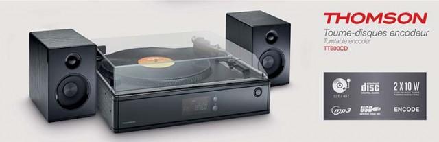 Plattenspieler TT500CD - Packshot