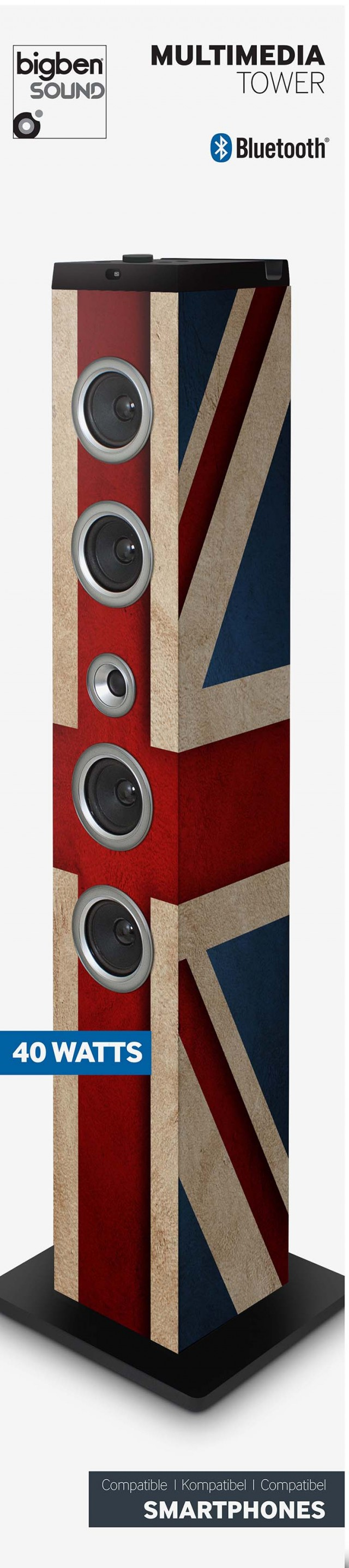 Sound Tower TW7 – Union Jack II - Packshot