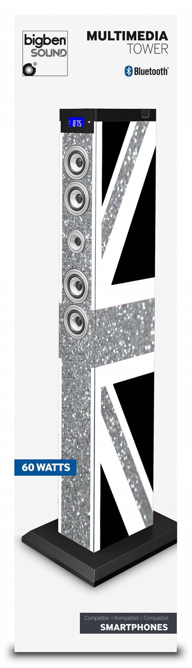 Sound Tower TW9 – Union Jack Glitter - Packshot