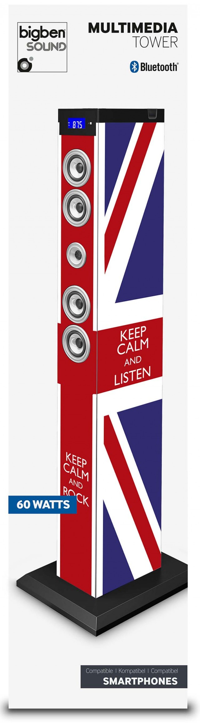 Sound Tower TW9 – Keep calm - Packshot