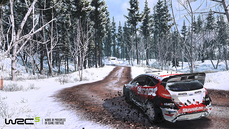 WRC 5 – Screenshot #1