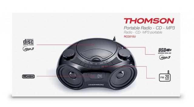 Thomson CD-Radio RCD210U - Packshot
