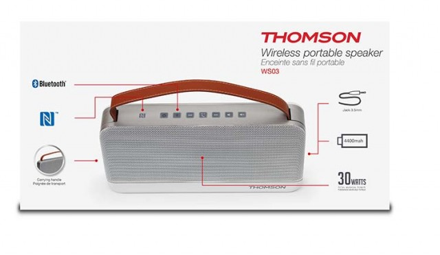 Thomson Bluetooth®-Lautsprecher WS03 - Packshot