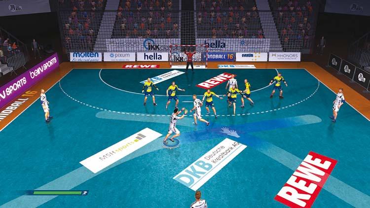 Handball 16 – Screenshot #1