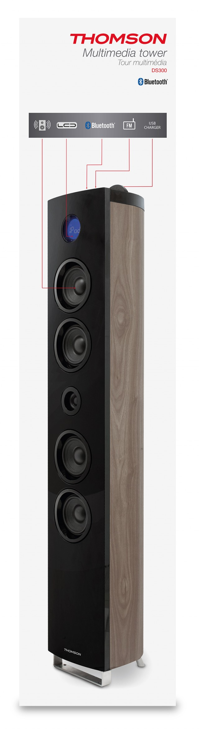 Thomson Sound Tower DS300 - Packshot