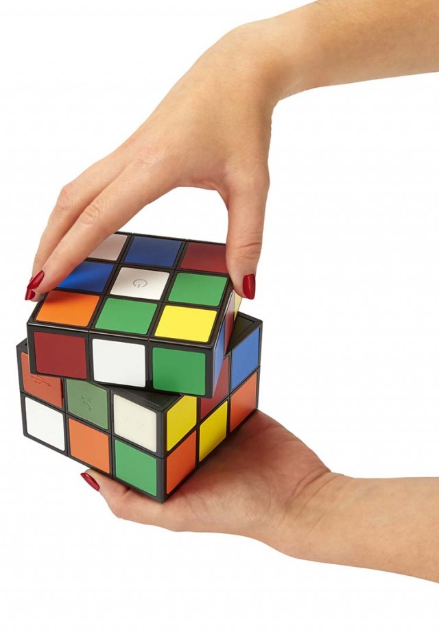 Bluetooth-Lautsprecher BT10 – Rubiks Cube – Bild