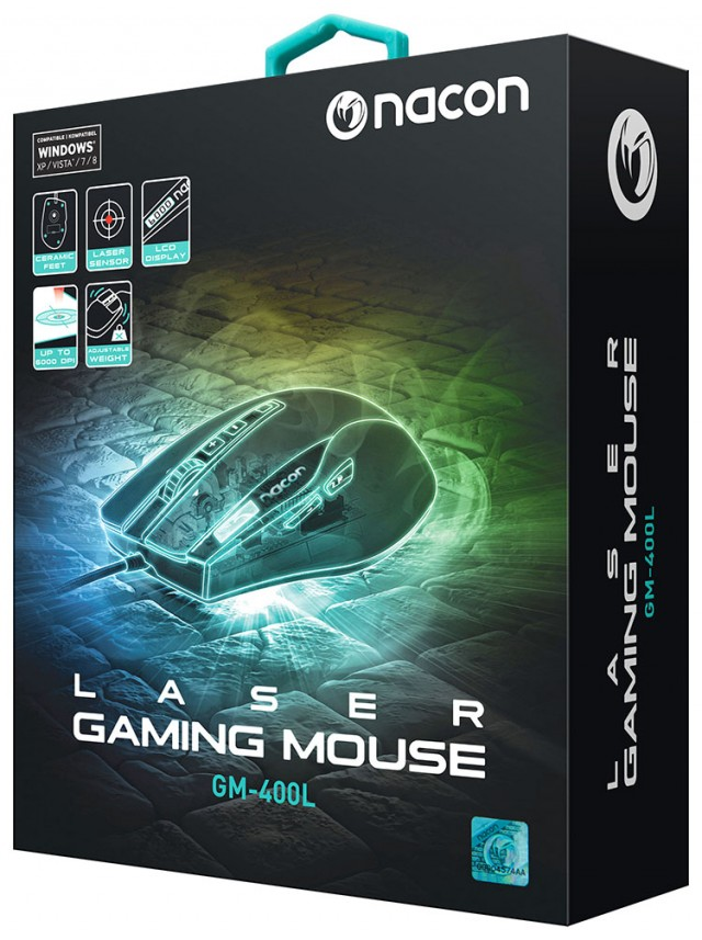 Gaming-Maus GM-400L – Bild #7