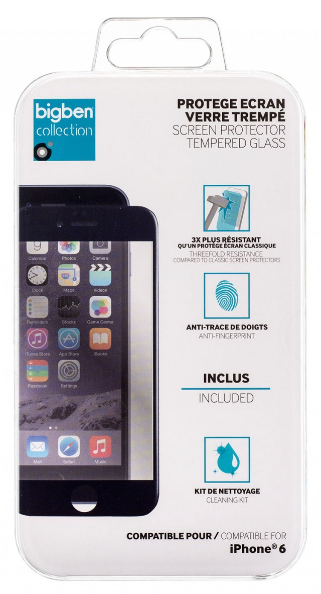Screen protector incurved Tempered Glass - Packshot