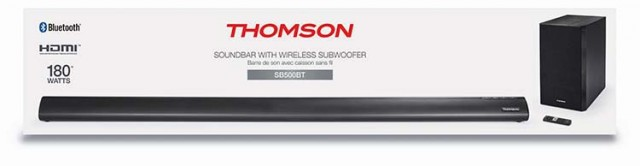 Thomson Soundbar SB500BT – Packshot
