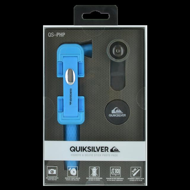 QUIKSILVER – Selfie Stick + Fish eye - Packshot