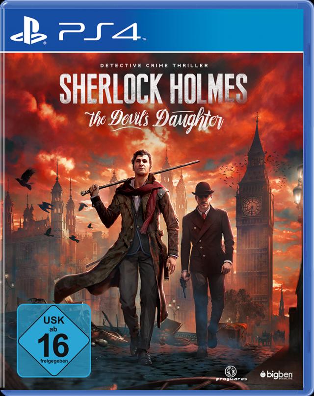 Sherlock Holmes: The devil's daugther - Packshot