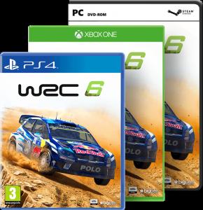 WRC6 Packshots