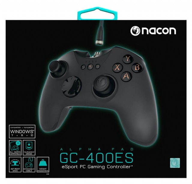PC Gaming Controller Alpha Pad GC-400ES - Packshot