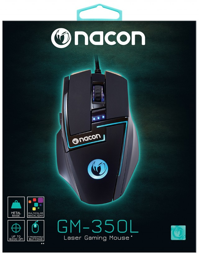 PC Laser Gaming Mouse GM-350L - Packshot