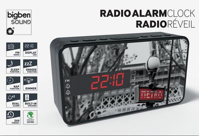 Radiowecker RR15 – Metro - Packshot