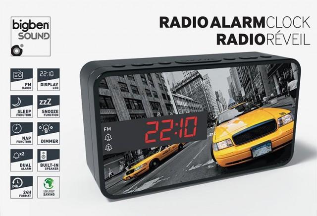 Radiowecker RR15 – New York Taxi - Packshot