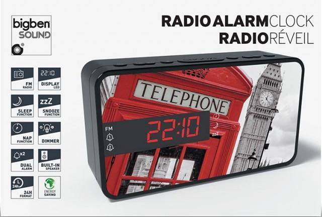 Radiowecker RR15 – Phone Box - Packshot