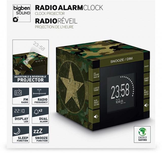 Radiowecker RR70 – Camouflage - Packshot