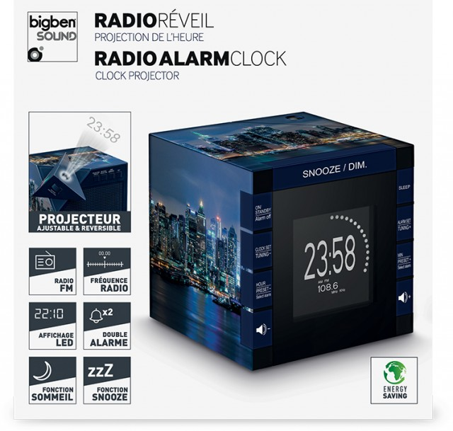 Radiowecker RR70 – New York by night - Packshot