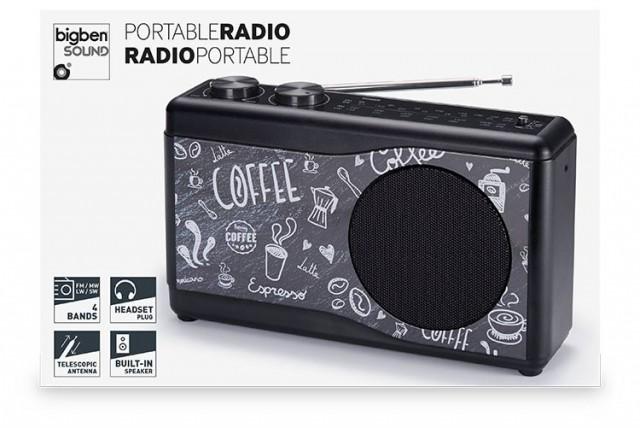 Kompaktradio TR23 – Coffee - Packshot