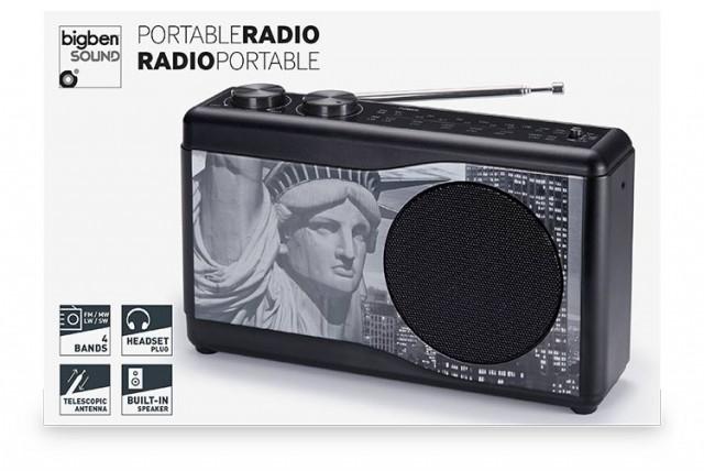 Kompaktradio TR23 – Freiheitsstatue - Packshot