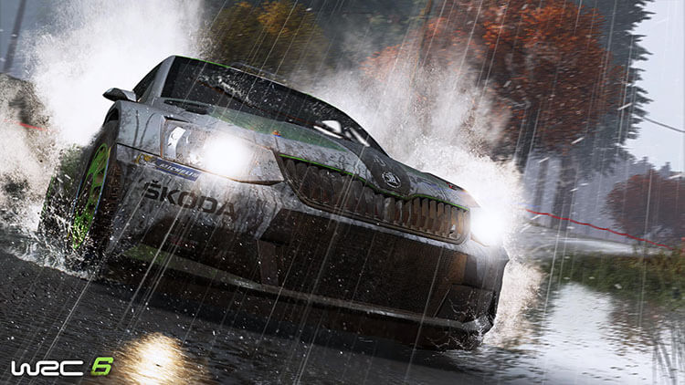 WRC 6 – Screenshot #1