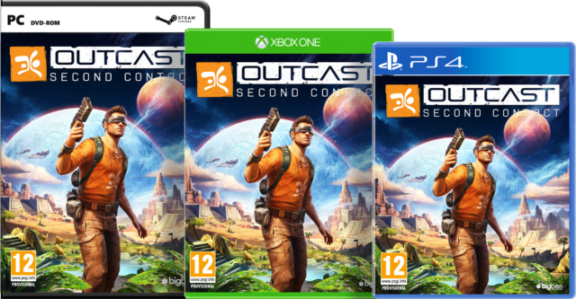 Outcast – Second Contact Packshots