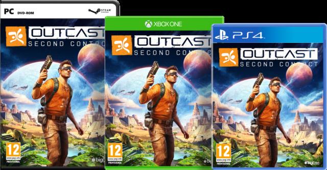 Outcast – Second Contact Packshots