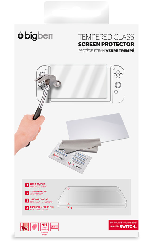 Tempered Glass Screen Protector - Packshot