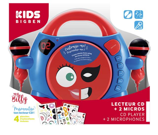 """CD-Player CD59 """"My Billy"""" – Packshot"""