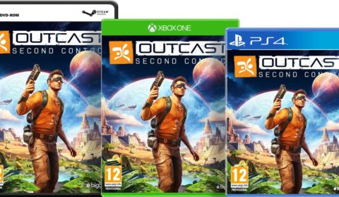OUTCAST SECOND CONTACT Packshots PC, Xbox One, PS4