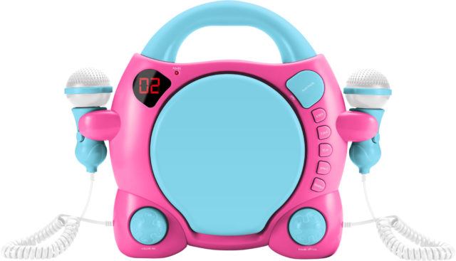 Karaoke-CD-Player für Kids