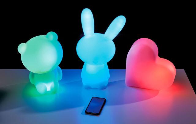 Lumin'Us – Leuchtende Bluetooth®-Lautsprecher