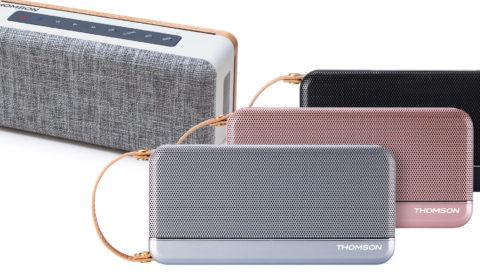 Thomson Bluetooth-Lautsprecher WS02 und WS04