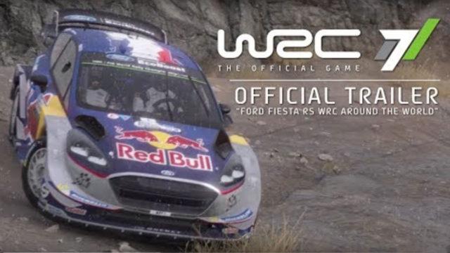 Neuer WRC 7-Trailer zeigt Sébastien Ogiers 2017er Ford Fiesta WRC
