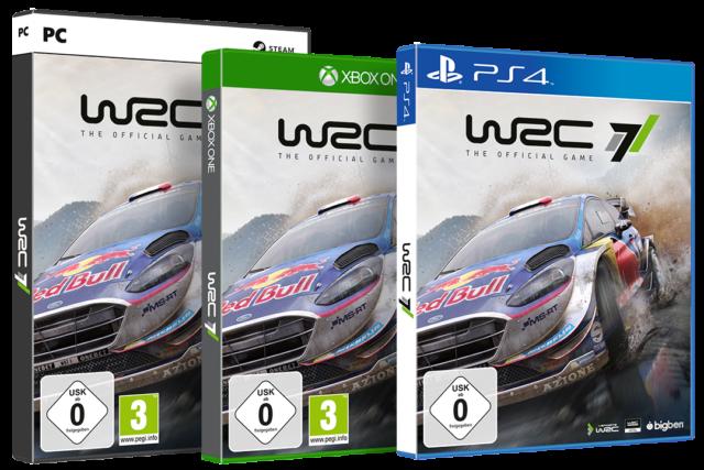 WRC7 Packshots