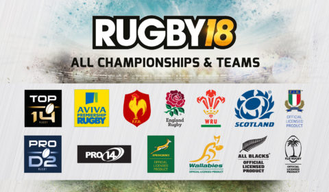 RUGBY18 Championships And Teams