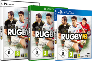 rugby18 Packshots