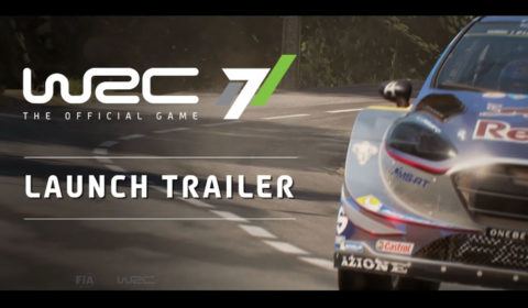 WRC7 Launch Trailer
