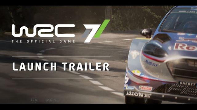 WRC7 Launch Trailer